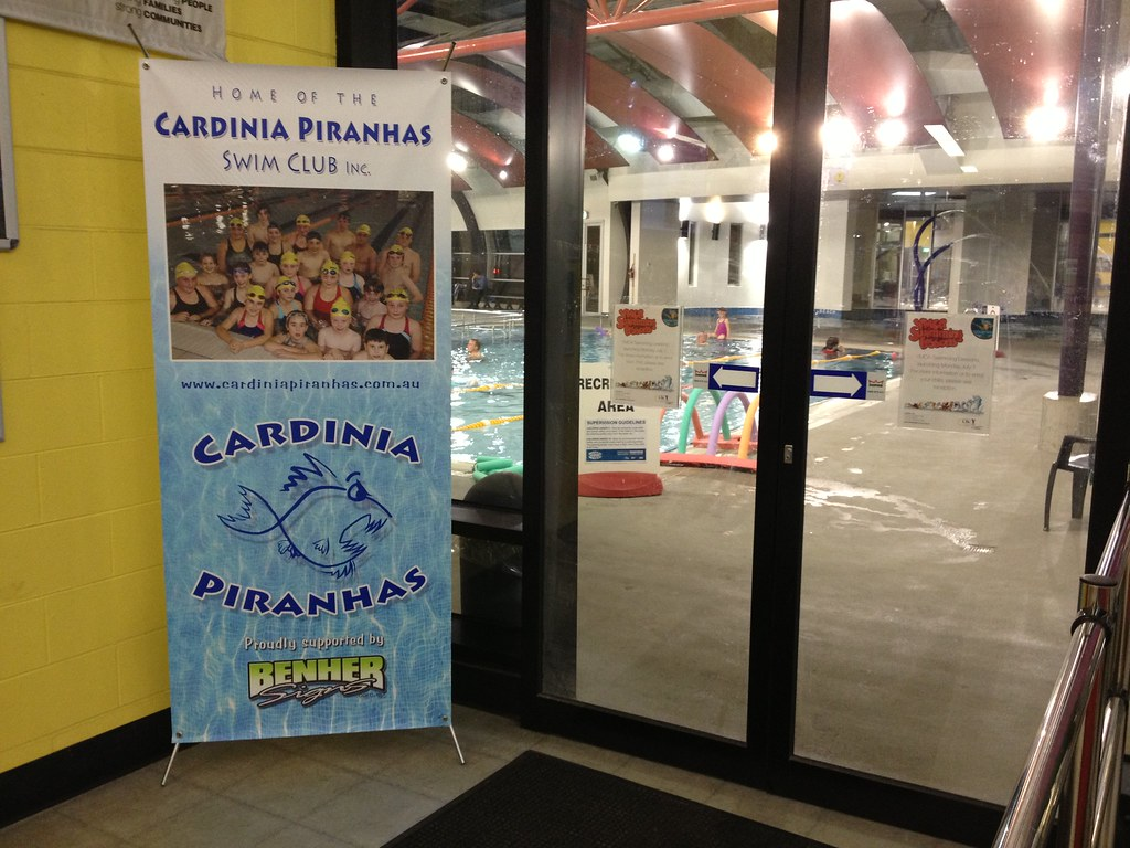Piranhas Swim Club banner
