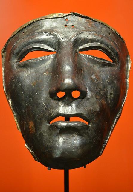 Cavalry Face-Mask Helmet, Museum und Park Kalkriese, Germany