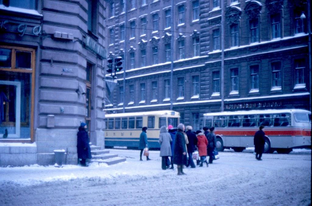 Street Scene Leningrad