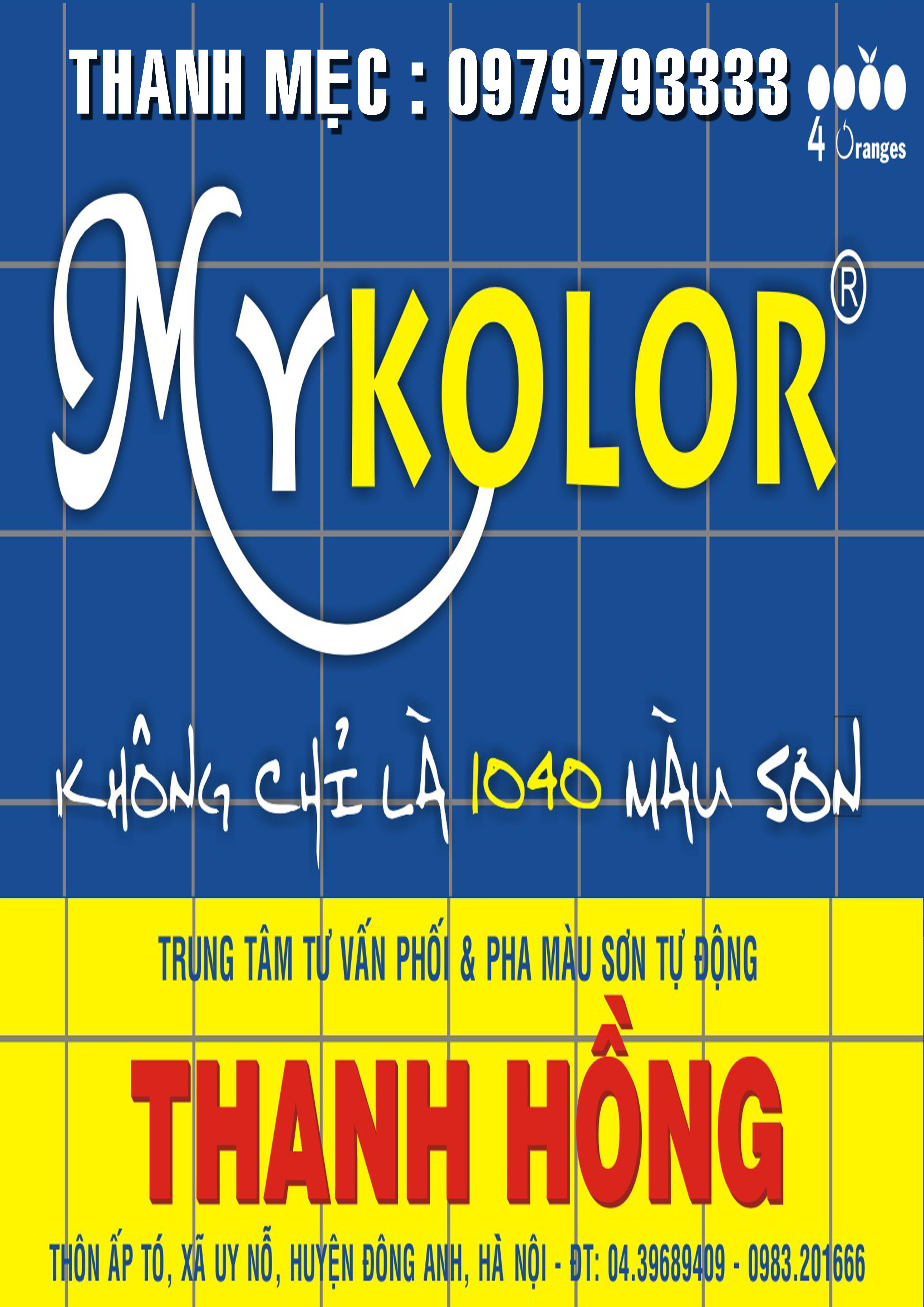 Sơn Mykolor Thanh Hồng