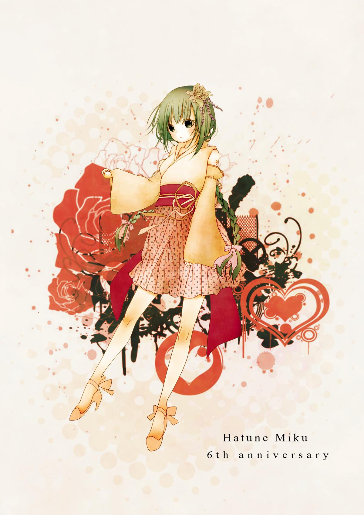 Miku Monday #186 (CLXXXVI) - Hatsune Miku, 6º Aniversario (I)