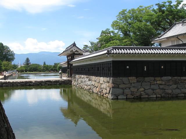 Matsumoto Castle mote