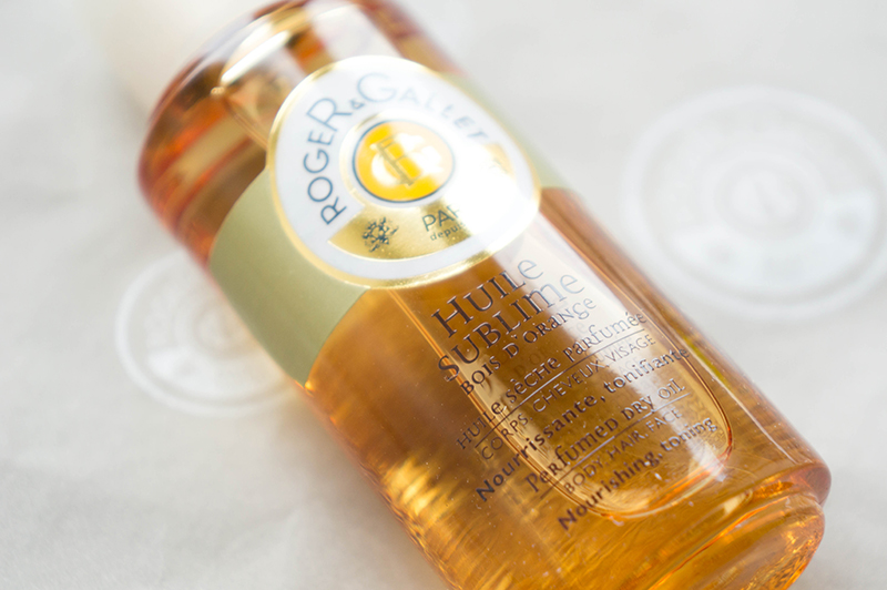 Roger & Gallet Huile Sublime Bois d'Orange Perfumed Dry Oil | www.latenightnonsense.com