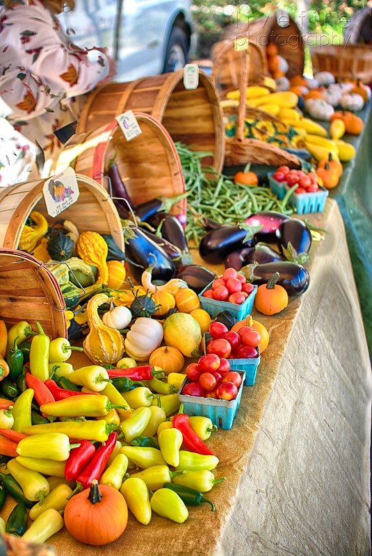 Veggies at the Farmers Market
