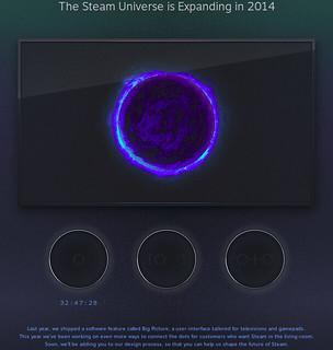 Steambox bejelentés visszaszámláló