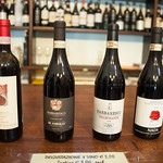 Enoteca selections in Barbaresco Italy