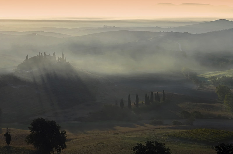 Tuscany morning mood