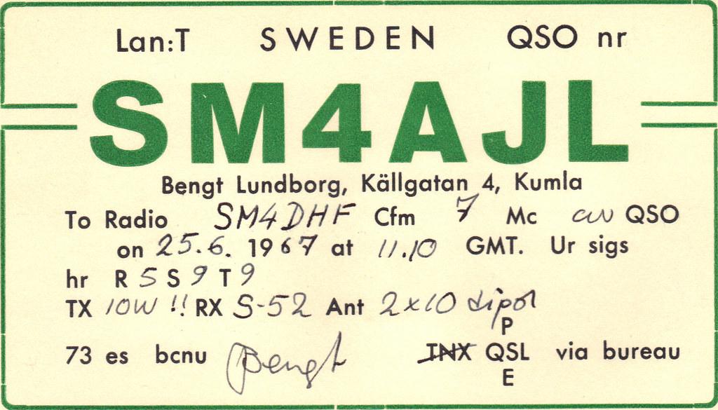 Sm4ajl 1967 Orebro Sandaramatorer Flickr