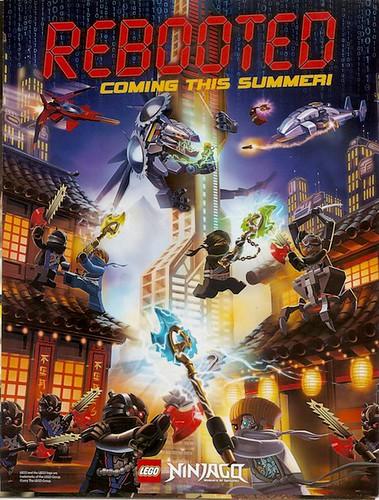 Ninjago Rebooted Poster