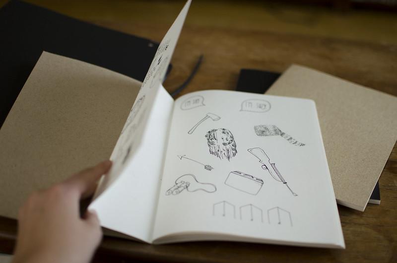 Prylar och pennor.