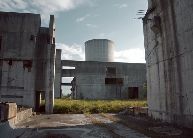 Incomplete Nuclear Power Plant