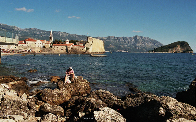 The Old Town and an old fisherman