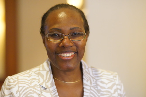 Fatoumata Nafo-Traoré at 10th RBM PSM working group meeting