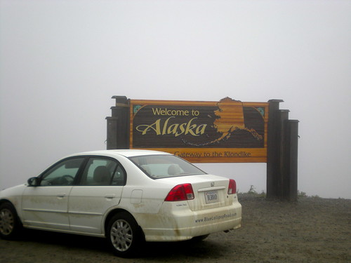 BLR-Mobile at the Alaska Border