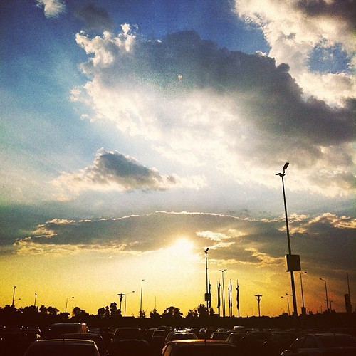 blue light sunset sky sun ikea car yellow clouds sunrise square outside photography photo warm day outdoor parking lot sunny squareformat romania hudson rays bucharest mobilephotography iphoneography instagramapp uploaded:by=instagram foursquare:venue=4b9b6840f964a520680536e3 dragosbardac