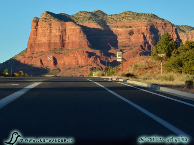 PIC: Scenic drive on Hwy 179 towards Red Rocks State Park, Sedona, Arizona