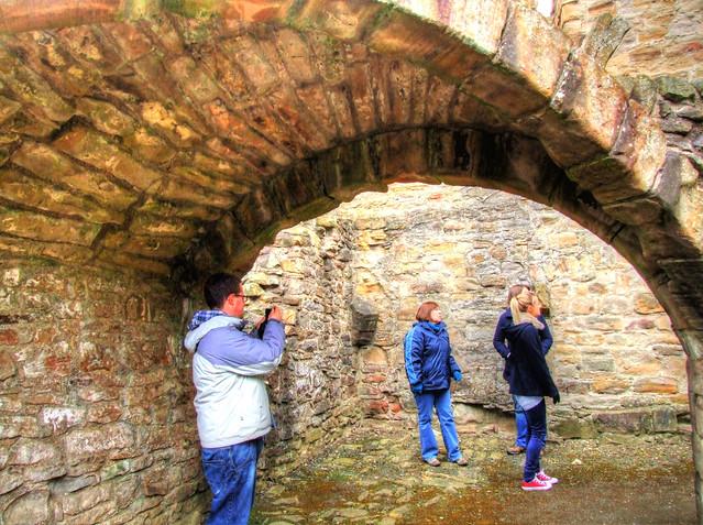 Durham Visit 2013 04 142 Finchale Abbey HDR