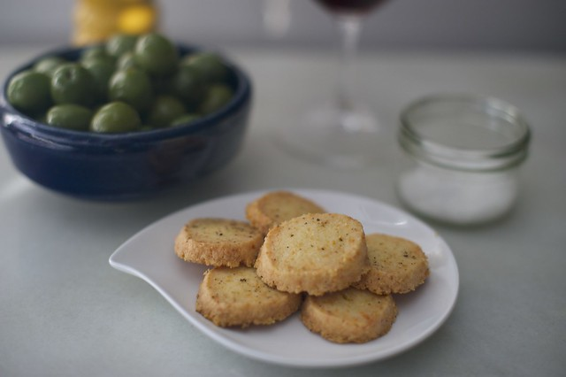 Gruyere Black Pepper Cookies