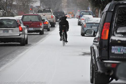 Snow scenes in Portland-15