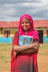 Neeima Muktar, 12, at Tutis Primary School in Oromia State of Ethiopia