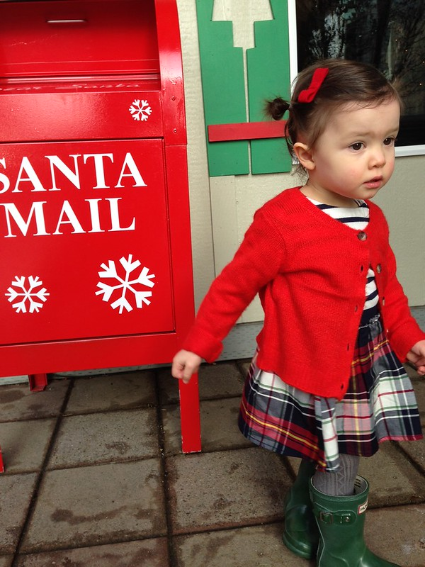 What Fern Wore: To See Santa // The Little Things We Do