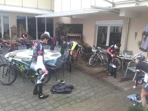 Sehr gut Trainingsbedingungen stehen den RACING STUDENTS im Kippenheimer Hotel Burger´s zur Verfügung_Foto Emrich