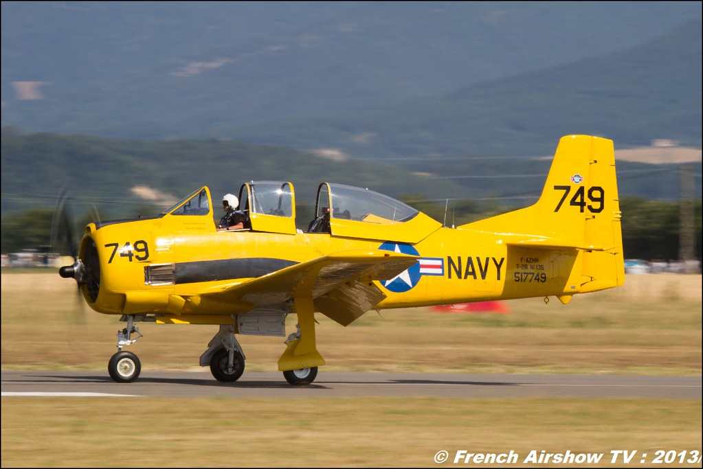 T-28 Trojan au Free Flight World Masters Valence 2013, Meeting aerien 2013