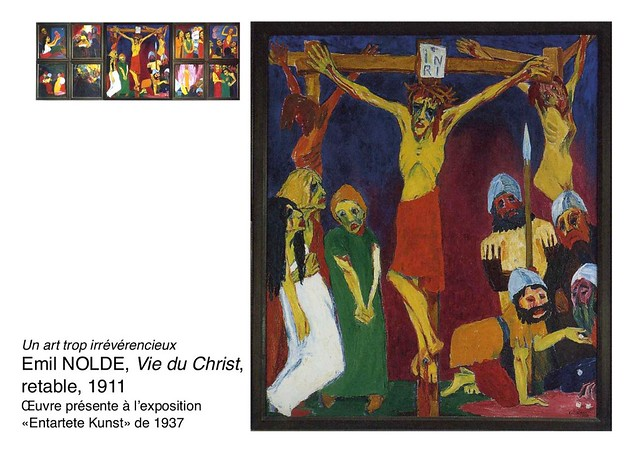 NOLDE Emil, Vie du Christ, 1911