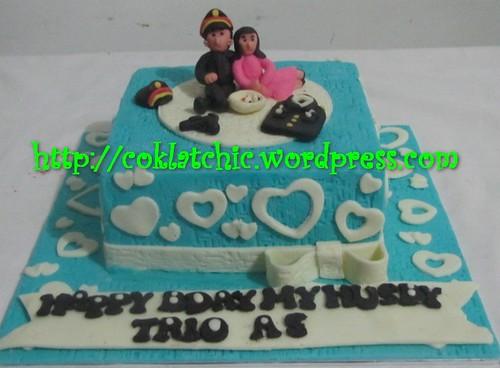 KUe ulang tahun dengan tema Cake Polisi model ini mulai dari ukuran 18 ...