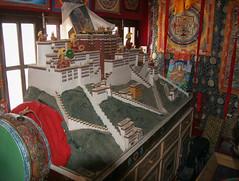 Kathmandu - Lhasa makieta