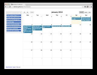Remember The Milk scheduler