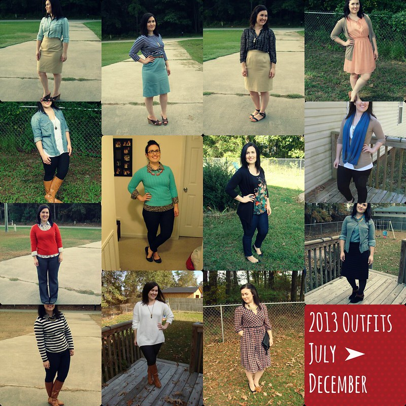 2013 Outfit Roundup Jul Dec