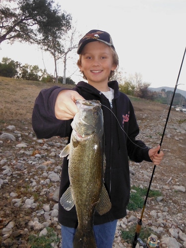 Caveboy's First Self-Caught Bass of 2014