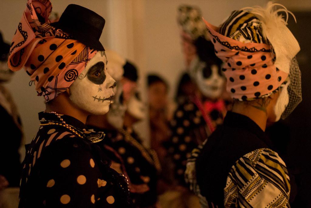 Dia De Los Muertos in Spanish Harlem, November 2013.