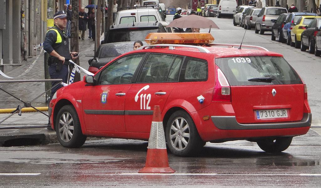 Cuerpo de Bomberos del Ayuntamiento de Madrid 12102999044_3b7798bdb8_b