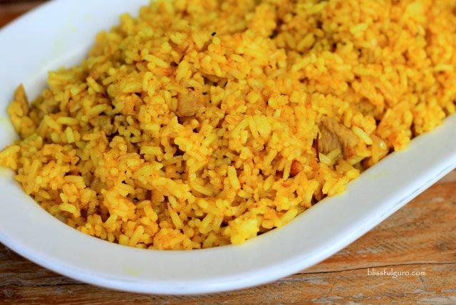 Vatang Grill And Restaurant Batanes Turmeric Rice