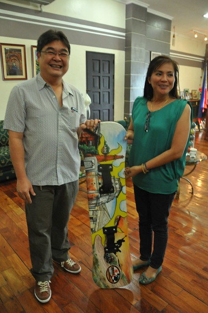 LEAD Movement Sandboard for Laoag City Mayor, Hon. Chevylle V. Fariñas