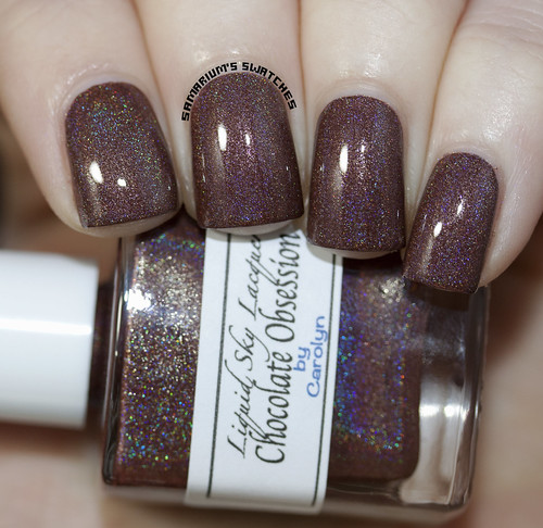 Liquid Sky Lacquer Chocolate Obsession