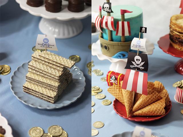chokladrån piratkalas