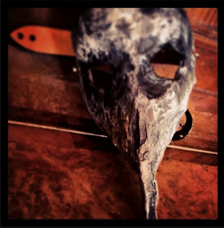 Plague mask Handmade