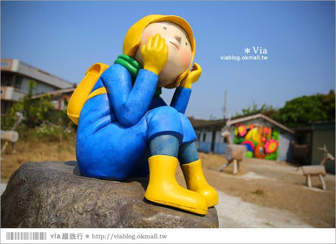 【台南後壁幾米】後壁土溝農村美術館‧農村就是美術館!幾米作品可愛現縱~33