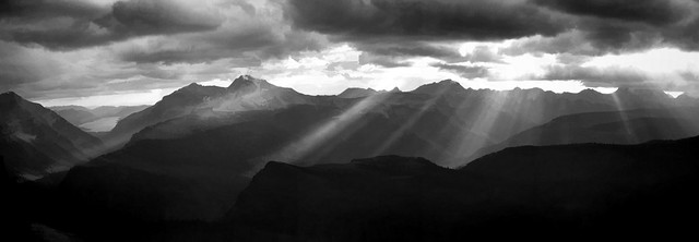 Heaven's Peak Panorama