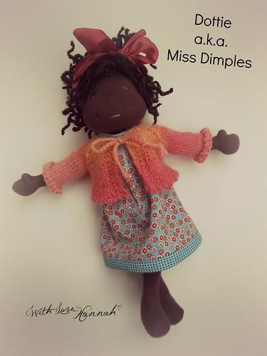 Dottie, a.k.a. Miss Dimples