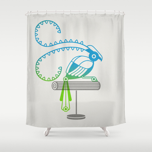 The Egotists (Shower Curtain)