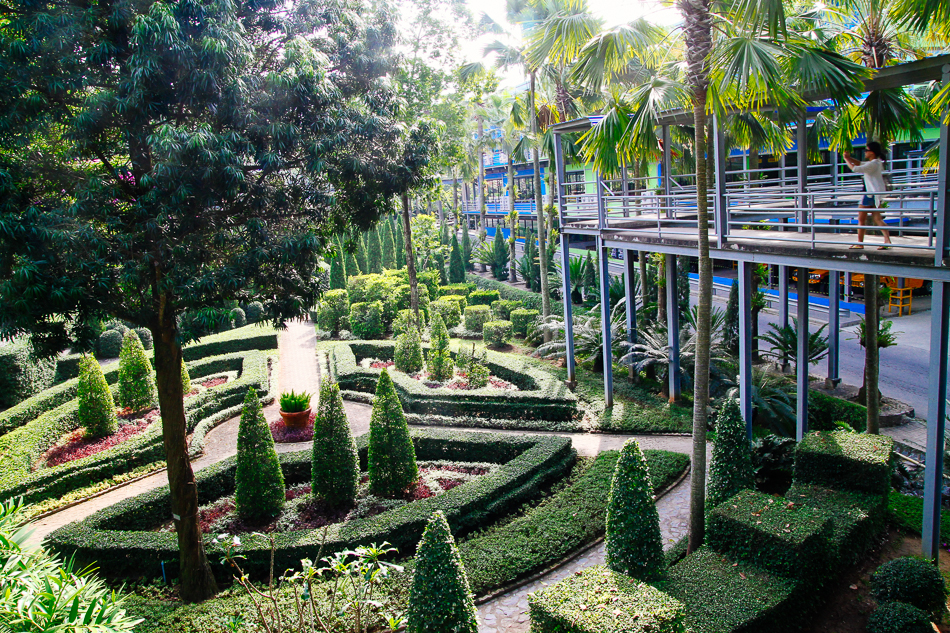 Skywalk, Nong Nooch Tropical Garden, Pattaya