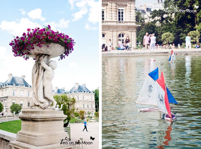 Jardines de Luxemburgo Paris 0