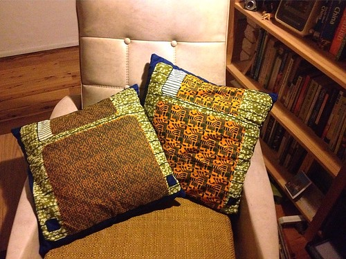 retro chair cushions front
