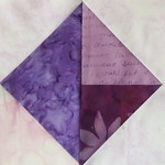 Purple Triangles-in-a-Square block