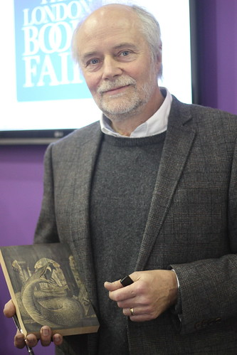 Andrew Davidson (Harry Potter illustrator) - London Book Fair 2014