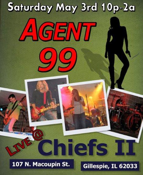 Agent 99 5-3-14